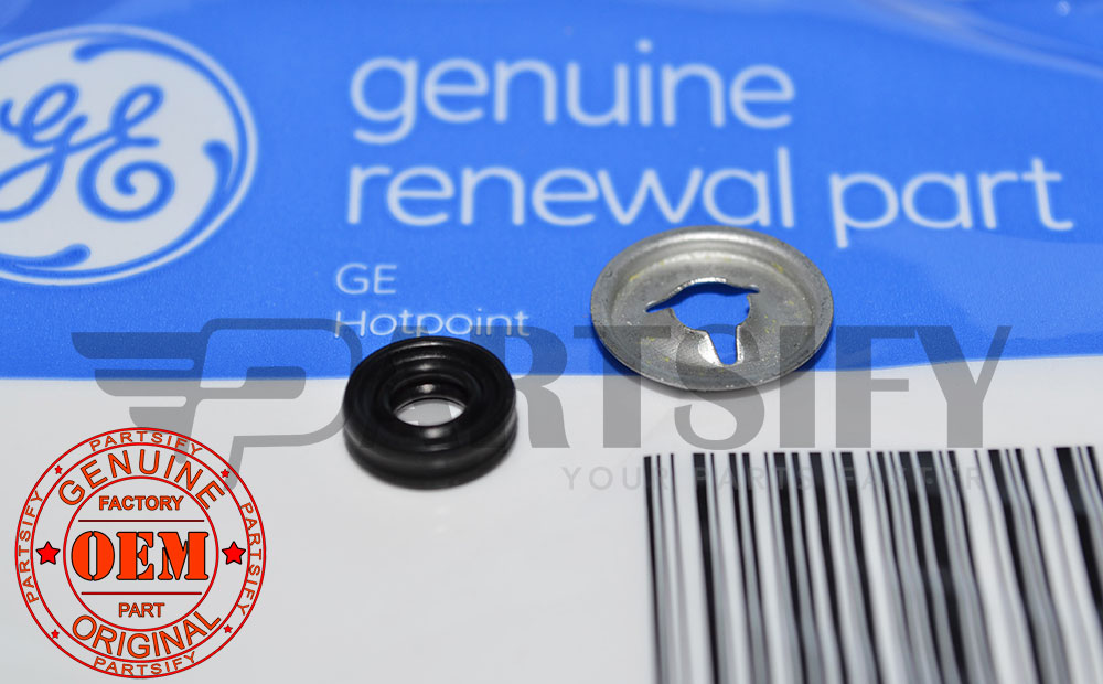 New Genuine Oem Ge Dishwasher Drain Pump Push Nut Wr2x7054