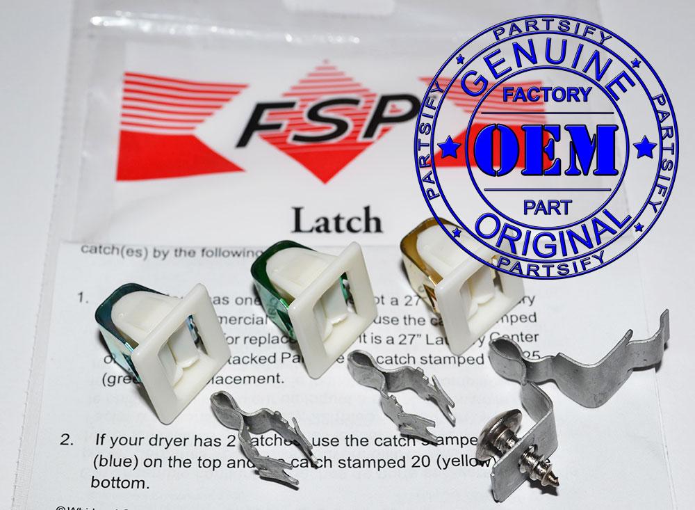 Genuine OEM Dryer Door Latch Kit